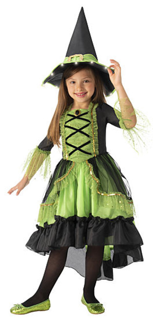 Childerns Green Witch costumeat the Costume Shoppe