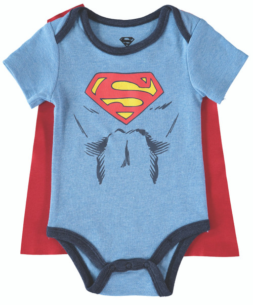 Infants Superman Caped Bodysuit