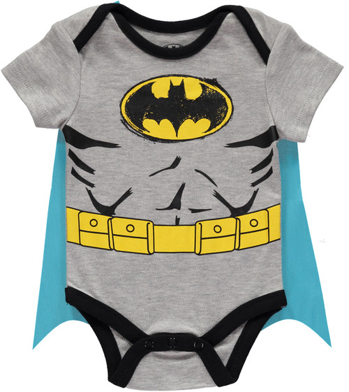 Infants Batman Caped Bodysuit