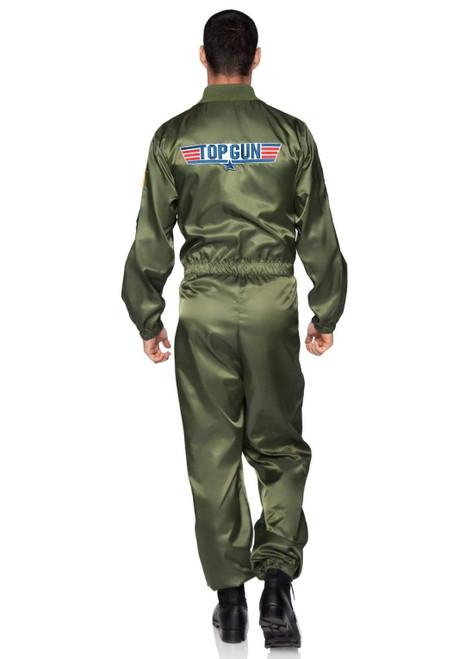 Adult Top Gun Parachute Flight Suit  Costume