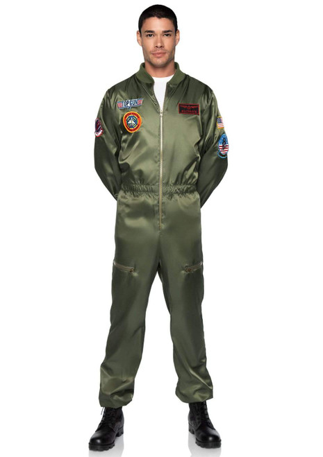 Adult Top Gun Parachute Flight Suit  Costumeat the costume shoppe