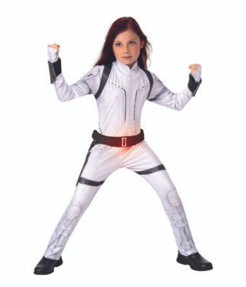 Children's Black Widow Deluxe Costume (White Suit) - Black Widow Movie