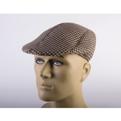Checkered Hat at the costume shoppe
