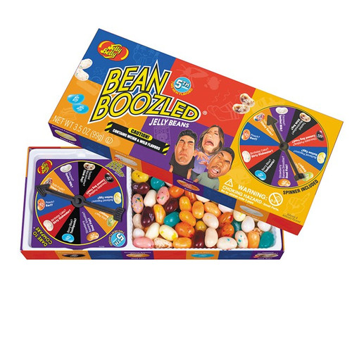 Jelly Belly 100 Bean Boozled Spinner GIFT Box