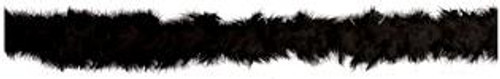 Black 5 Foot Feather Boa - At The Costume Shoppe