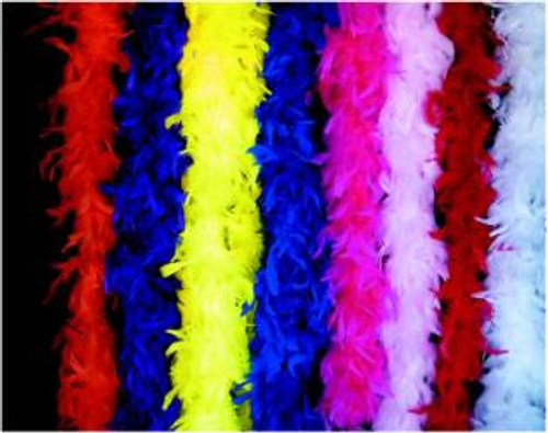 Hot Pink 5 Foot Feather Boa - At The Costume Shoppe