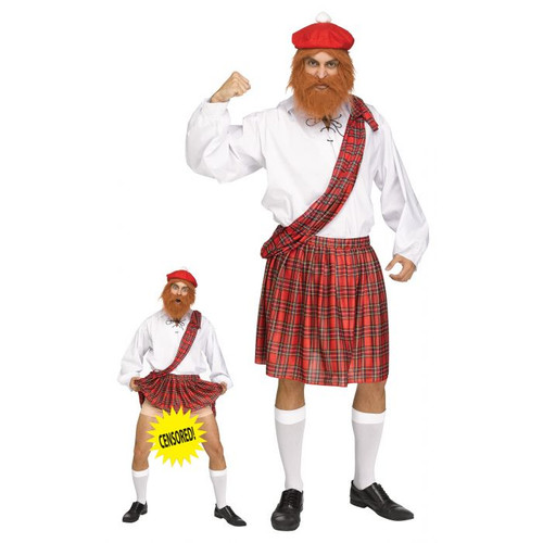Mens Cocky Scotty Costume - At The Costume Shoppe