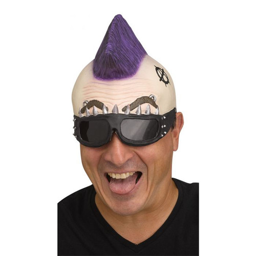 Punk Rocker Cap With Shades - At The Costume Shoppe