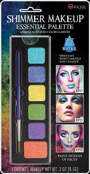 Cinema Secrets Essential Palette - Water Activated Face Paint at The Costume Shoppe