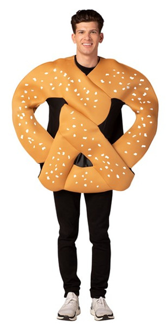 Adult One Size Bendable Pretzel  Costume