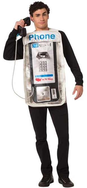 Adult Pay Phone Costume