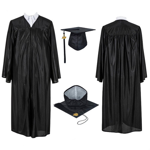 Graduation Gown and Cap at The Costume Shoppe