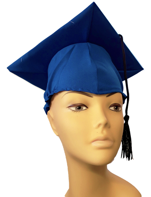 Graduation Cap - Royal Blue at The Costume Shoppe