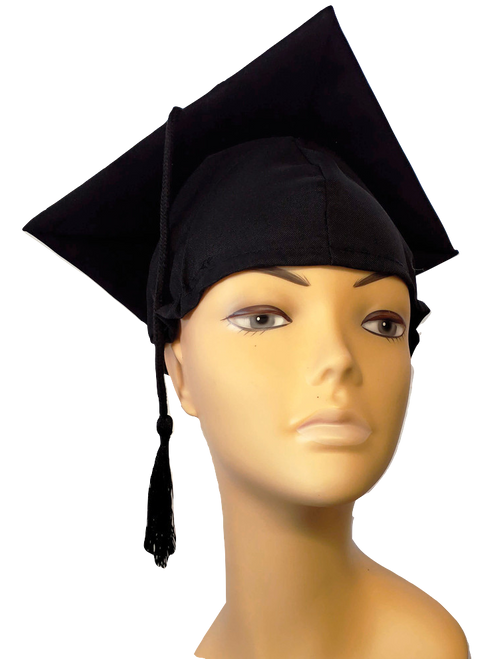 Graduation Cap - Black