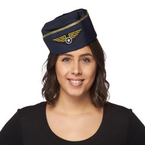 Retro Stewardess Hat