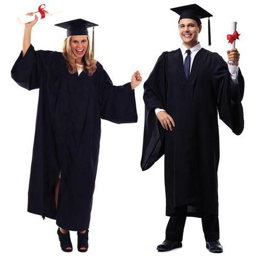 Graduation Gown and Cap (Matte)