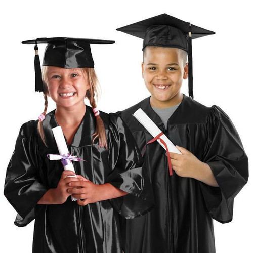 Childs Graduation Gown and Cap