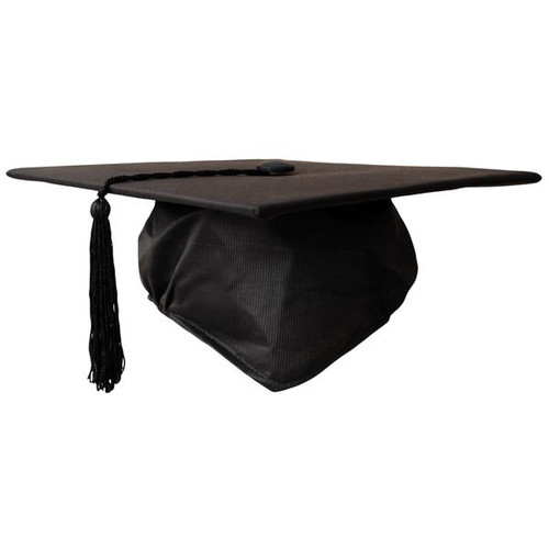 Childs Graduation Cap - Black