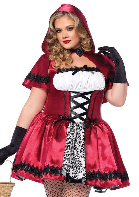 Adult Gothic Red Riding Hood Costumeat the Costume Shoppe