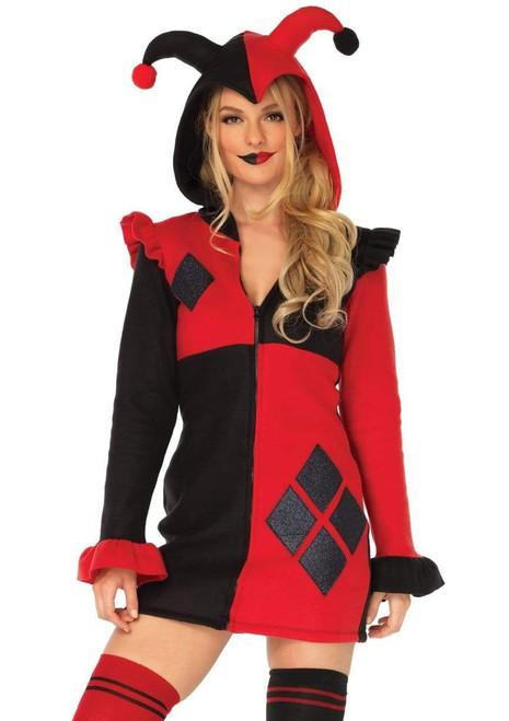 Adult Harlequinn Cozy Costumeat the Costume Shoppe