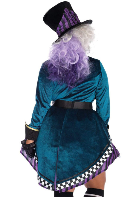 Plus Size Delightful Hatter Costume