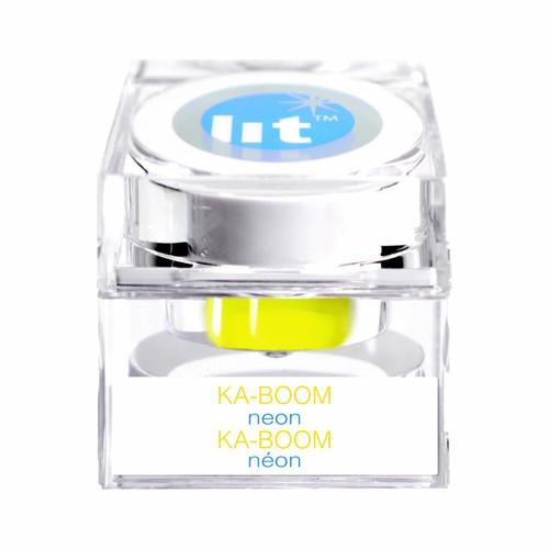 Glitter Makeup Ka-Boom Yellow Neon at the Costume Shoppe