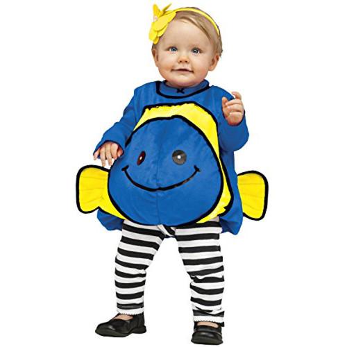 Infant/Toddler's Giddy Goldfish Costume Blue
