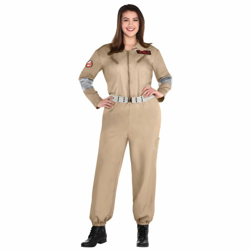 Female Plus Size Ghostbusters at the Costume Shoppe