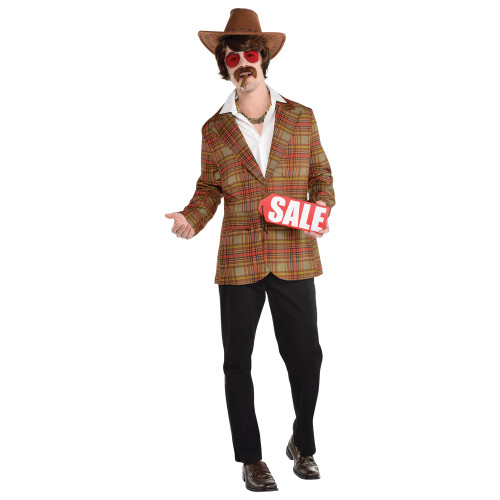 Salesman at the Costume Shoppe
