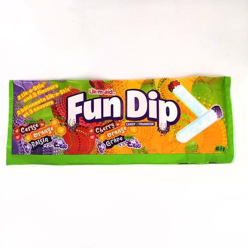 Fun Dip Cherry Orange Grape