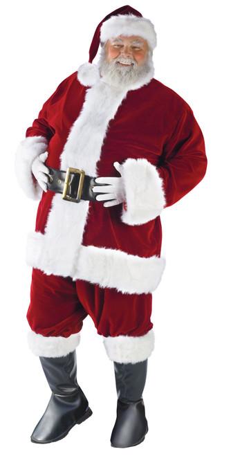 Ultra Velvet Deluxe Santa Suit X-Large
