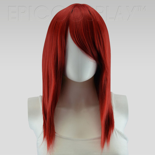 Theia Dark Red Wig at The Costume Shoppe Calgary