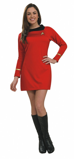 Star Trek Uhura Womens Red Dress Costume