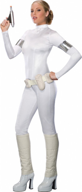 Amidala Sexy White One Piece Costume
