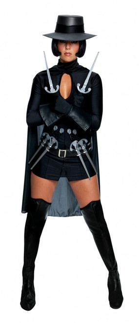 V for Vendetta Sexy Ladies Halloween Costume