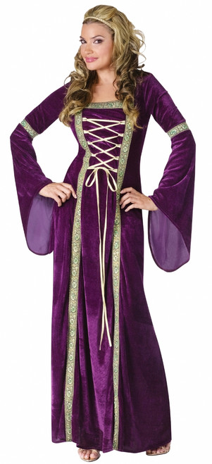 Renaissance Medieval Maiden Ladies Costume