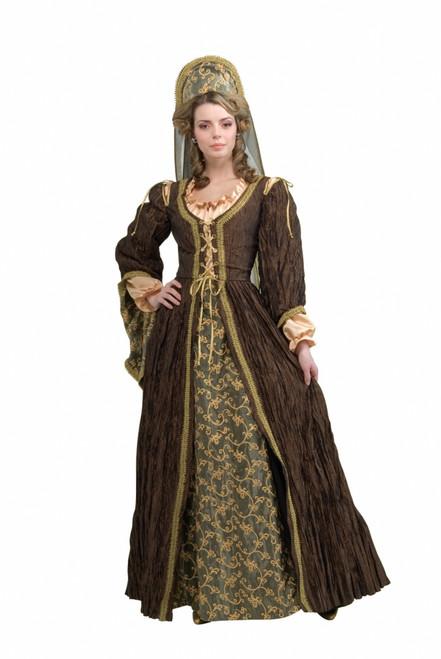 1500s England Anne Boleyn Period Costume