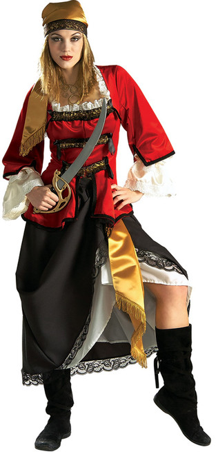 Deluxe Pirate Queen Ladies Costume