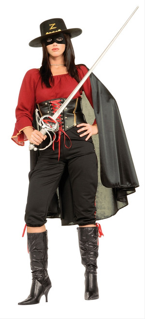 Deluxe Zorro Ladies Costume