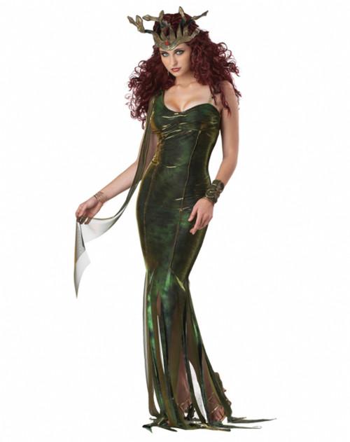 Serpentine Goddess Medusa Costume