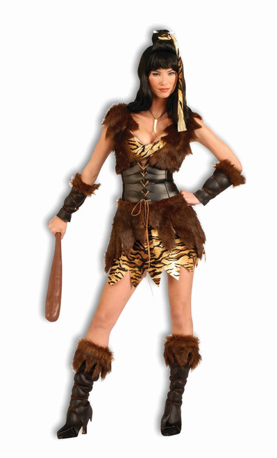 Cave Cutie Cavewoman Ladies Costume