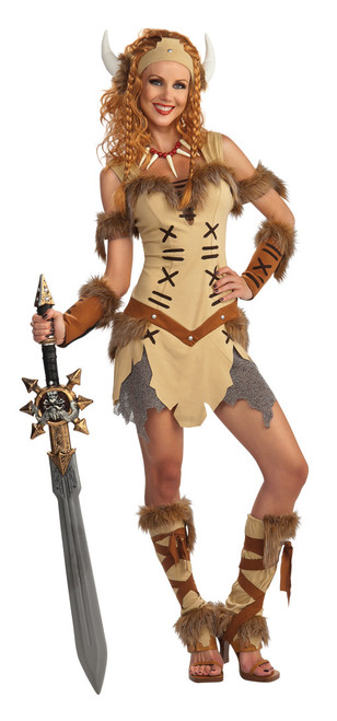 Viking Princess Warrior Costume