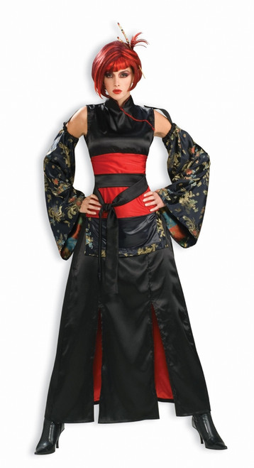Asian Dragon Mistress Halloween Costume