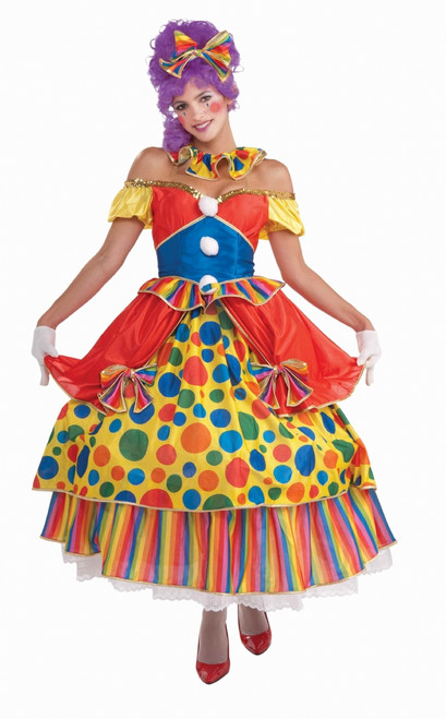 Women's Big Top Clown Costume