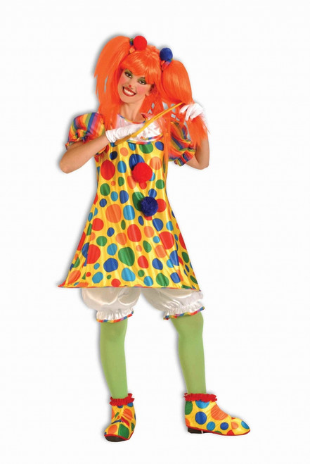 Giggles The Clown Ladies Halloween Costume