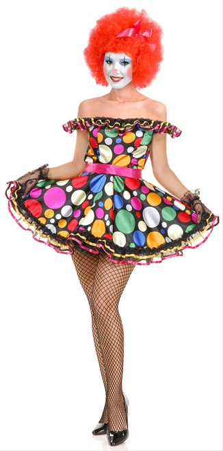 Women's Just Clownin' Costume