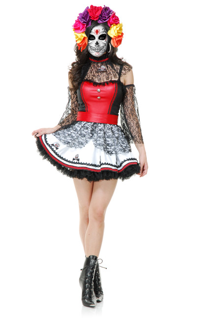 Dia De Muertos, Day of the Dead Dress