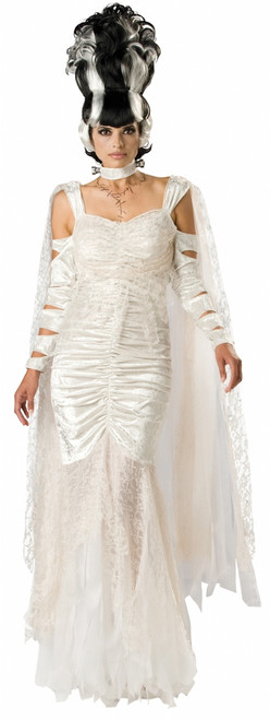 Monster Bride of Frankenstein Halloween Costume