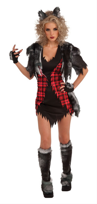 Womens She-Wolf Costume X-Large