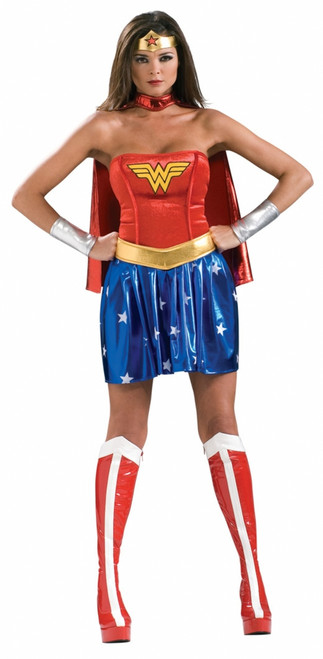 Wonder Woman Sexy Ladies Costume